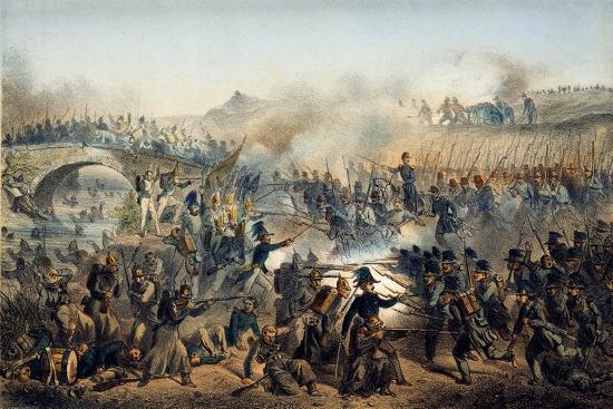 paul-levert-the-battle-of-the-chernaya-river-on-august-16-1855-19th-century