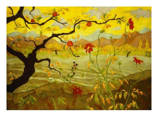paul-ranson-apple-tree-with-red-fruit