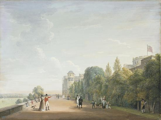 paul-sandby-windsor-castle-the-north-terrace-looking-east-with-elegant-figures-1803