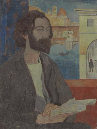 paul-serusier-portrait-of-emile-bernard-in-florence-1893