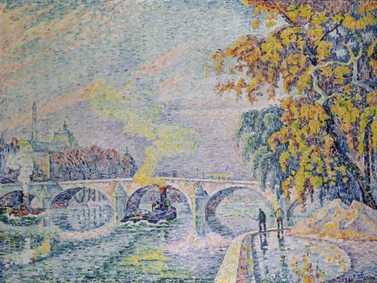paul-signac-pont-royal-in-autumn-paris-1920