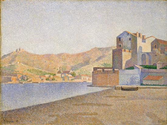 paul-signac-the-town-beach-collioure-opus-165-1887