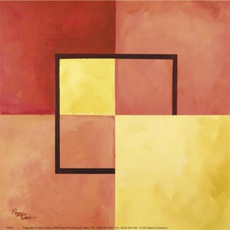 peggy-garr-four-squares-with-lines