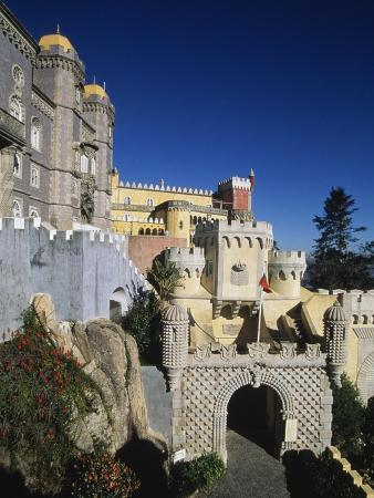pena-national-palace-sintra-unesco-world-heritage-list-1995-portugal-19th-century