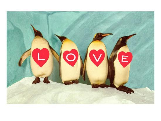 penguins-spelling-out-love