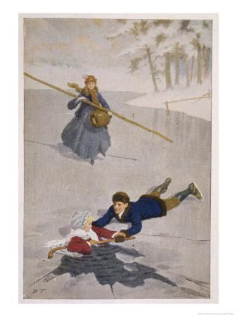 percy-tarrant-amy-falls-into-the-ice-but-is-saved-by-laurie-with-the-aid-of-a-hockey-stick