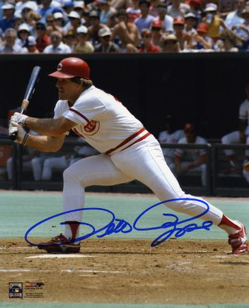 pete-rose-cincinnati-reds-swinging-autographed-photo-hand-signed-collectable