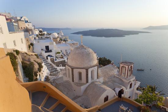 peter-adams-church-and-fira-town-at-sunset-fira-santorini-cyclades-greece