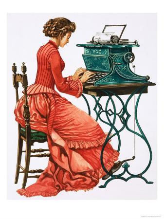 peter-jackson-victorian-female-secretary-at-type-writer