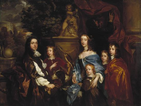 peter-lely-sir-edward-hales-and-his-family-1656