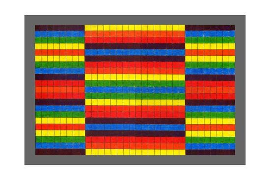 peter-mcclure-striped-triptych-2009