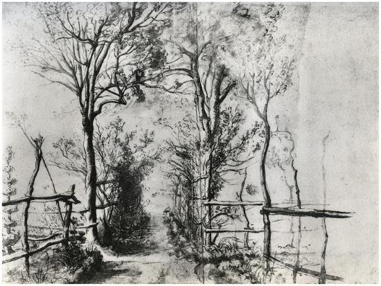 peter-paul-rubens-a-path-bordered-by-trees-c1620-1625