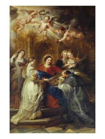 peter-paul-rubens-st-ildefonso-altarpiece-central-panel-depicting-virgin-mary-presenting-a-liturgical-robe