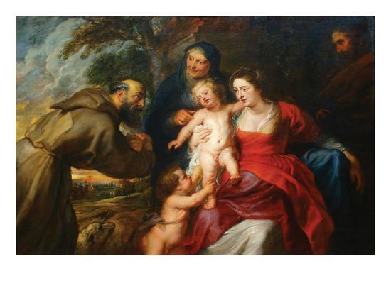 peter-paul-rubens-the-holy-family-with-saints-francis-and-infant-st-john-the-baptist