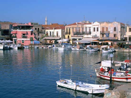 peter-thompson-old-harbour-rethymnon-crete-greece