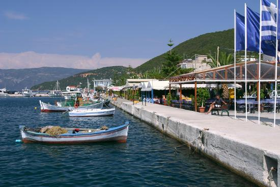 peter-thompson-waterfront-at-sami-kefalonia-greece
