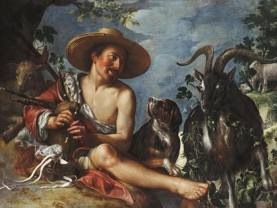 peter-wtewael-a-shepherd-piping-on-a-knoll-a-dog-and-his-flock-nearby