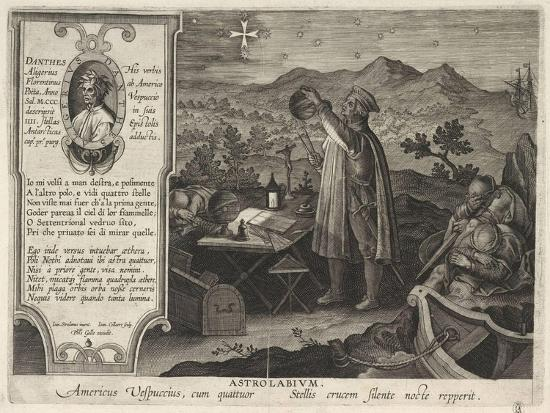 philipp-galle-amerigo-vespucci-finding-the-southern-cross-constellation-with-an-astrolabe-1591