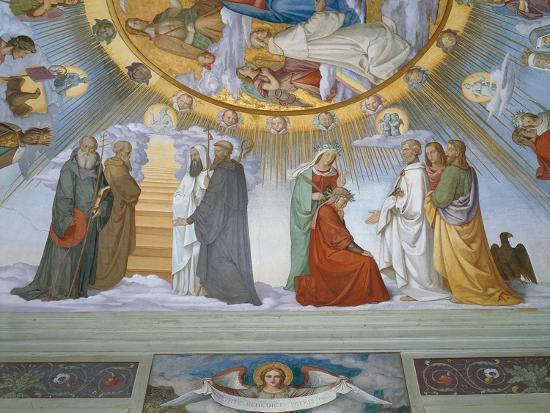 philipp-veit-scene-from-the-heavens-of-the-blessed-and-the-empyrean-dante-room