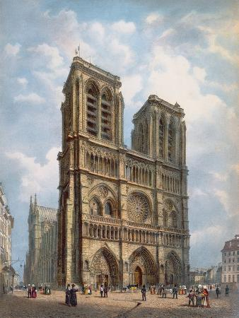 philippe-benoist-view-of-the-west-facade-of-the-cathedral-of-notre-dame-paris-c-1840