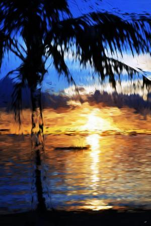 philippe-hugonnard-blue-sunset-in-the-style-of-oil-painting