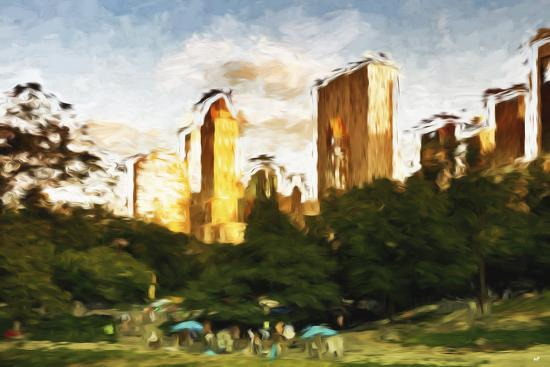 philippe-hugonnard-central-park-sunset-iv-in-the-style-of-oil-painting