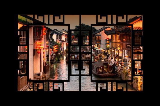 philippe-hugonnard-china-10mkm2-collection-asian-window-beautiful-shantang-water-town