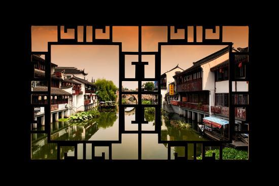 philippe-hugonnard-china-10mkm2-collection-asian-window-chinese-water-town