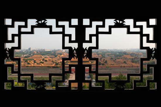 philippe-hugonnard-china-10mkm2-collection-asian-window-forbidden-city-beijing
