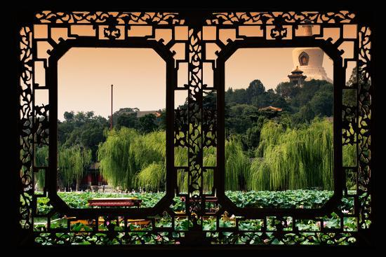 philippe-hugonnard-china-10mkm2-collection-asian-window-lotus-flowers-beihai-park