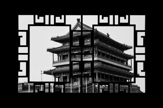 philippe-hugonnard-china-10mkm2-collection-asian-window-qianmen-temple-beijing