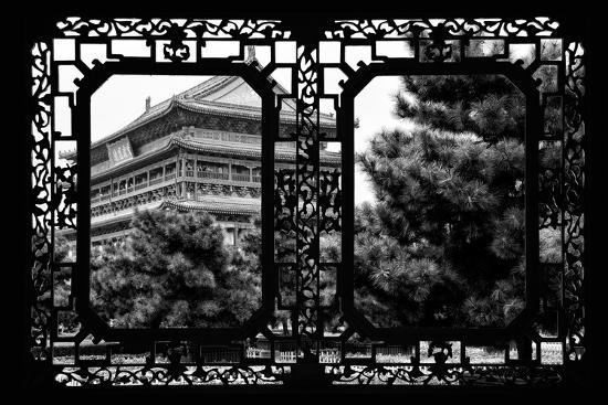 philippe-hugonnard-china-10mkm2-collection-asian-window-temple-xi-an