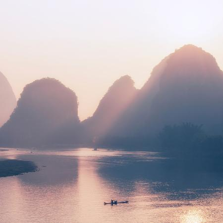 philippe-hugonnard-china-10mkm2-collection-beautiful-scenery-of-yangshuo-with-karst-mountains-at-pastel-sunrise