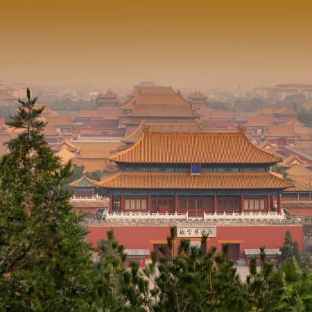 philippe-hugonnard-china-10mkm2-collection-forbidden-city-at-sunset-beijing