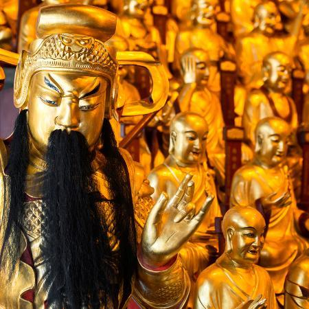 philippe-hugonnard-china-10mkm2-collection-gold-buddhist-statue-in-longhua-temple