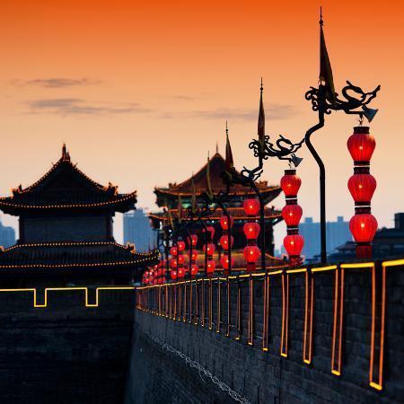 philippe-hugonnard-china-10mkm2-collection-illumination-night-ramparts-xi-an-city