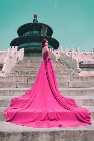 philippe-hugonnard-china-10mkm2-collection-instants-of-series-fashion-pink