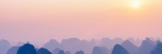 philippe-hugonnard-china-10mkm2-collection-karst-mountains-at-sunset-yangshuo