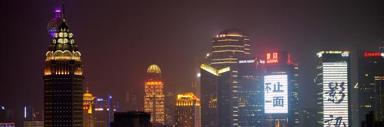 philippe-hugonnard-china-10mkm2-collection-shanghai-cityscape-at-night