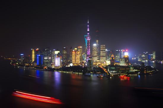philippe-hugonnard-china-10mkm2-collection-shanghai-skyline-with-oriental-pearl-tower-at-night