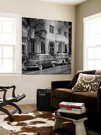 philippe-hugonnard-classic-cars-on-south-beach-miami-florida