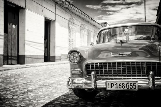 philippe-hugonnard-cuba-fuerte-collection-b-w-1955-chevy-classic-car