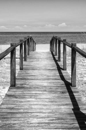 philippe-hugonnard-cuba-fuerte-collection-b-w-wooden-pier-on-tropical-beach-v