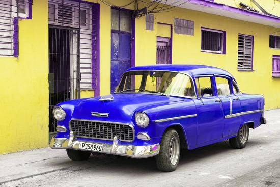 philippe-hugonnard-cuba-fuerte-collection-beautiful-classic-american-blue-car