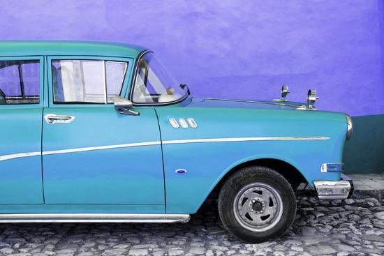 philippe-hugonnard-cuba-fuerte-collection-close-up-of-retro-turquoise-car