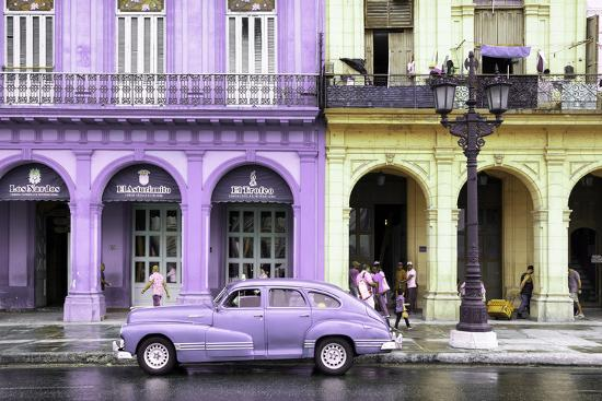 philippe-hugonnard-cuba-fuerte-collection-colorful-architecture-and-mauve-classic-car