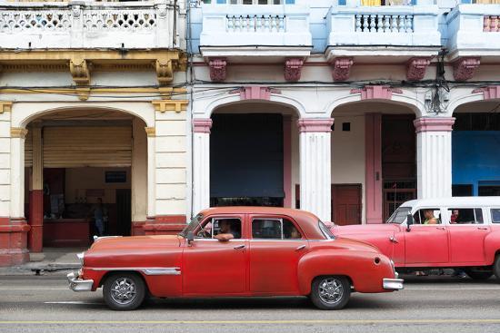 philippe-hugonnard-cuba-fuerte-collection-havana-red-car