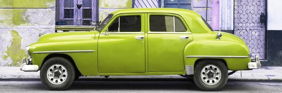 philippe-hugonnard-cuba-fuerte-collection-panoramic-lime-green-classic-american-car