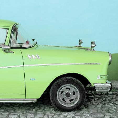 philippe-hugonnard-cuba-fuerte-collection-sq-close-up-of-retro-lime-green-car