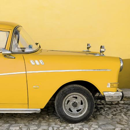 philippe-hugonnard-cuba-fuerte-collection-sq-close-up-of-retro-yellow-car